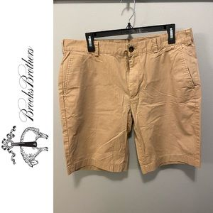 Men's Brooks Brothers Tan Shorts 35 waist